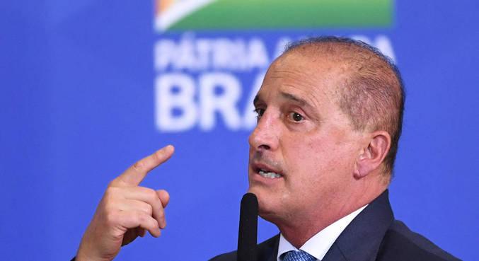 O ministro Onyx Lorenzoni, que assumiu a Secretaria-Geral da Presidência na quarta-feira (24)