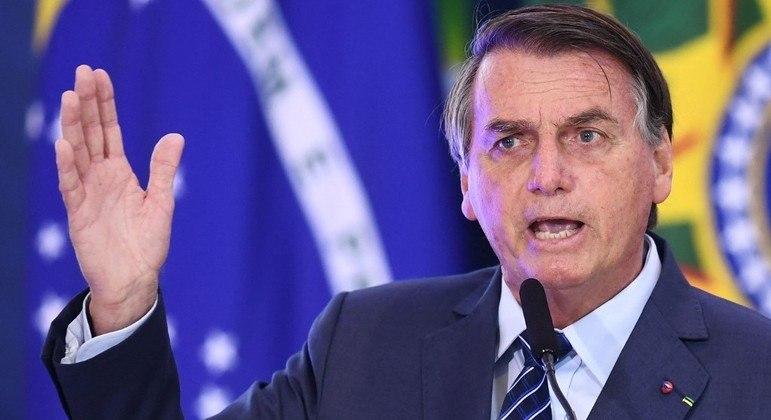 Bolsonaro falou durante evento ambiental no Planalto: 'Respeito os demais, mas vão nos respeitar'