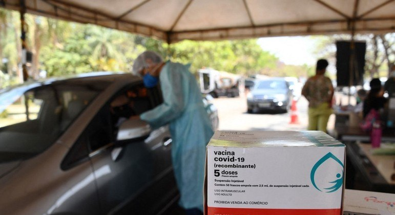 Entre os internados por Covid-19 nos hospitais do DF, muitos não se vacinaram