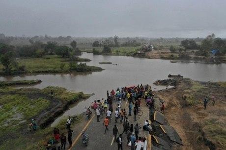 Ciclone destruiu 90% de cidade em Moçambique