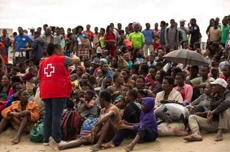 Moradores de Beira estão sofrendo com a escassez
