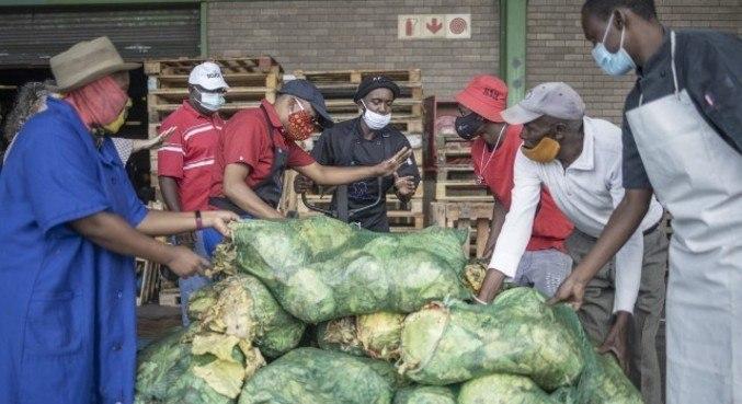 A pandemia agravou a pobreza na África do Sul
