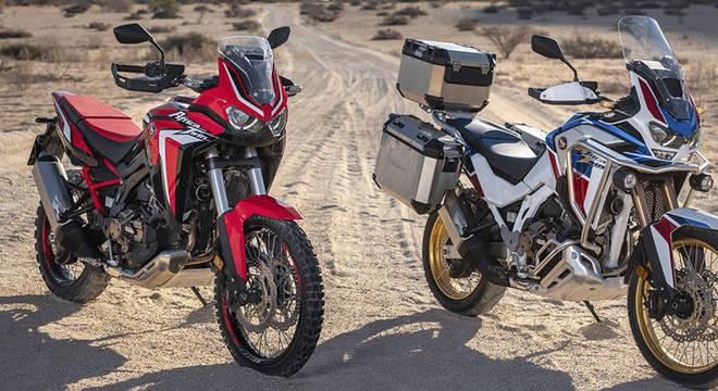 Africa Twin é um dos três grandes lançamentos da Honda confirmados para 2021