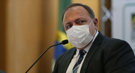 O ex-ministro Eduardo Pazuello