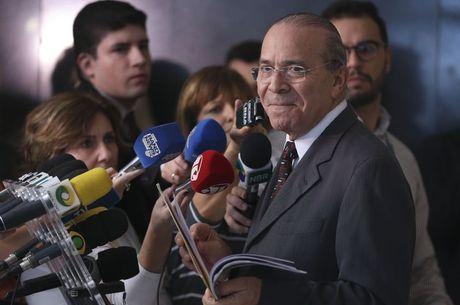 Padilha atendeu a imprensa hoje em Brasília