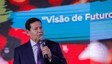 'Brasil acompanha ritmo de vacinação mundial', diz Mourão
