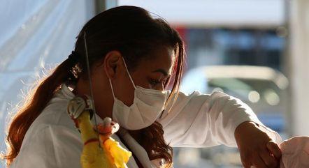Brasil rompeu marca de 500 mil mortes ontem