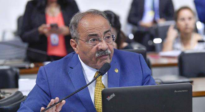 Senador Chico Rodrigues (DEM/RO), que se afastou da Casa por 90 dias