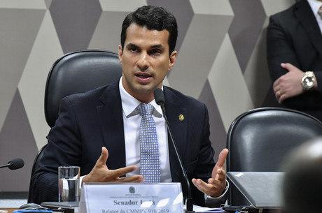Na imagem, senador Irajá Silvestre (PSD-TO)