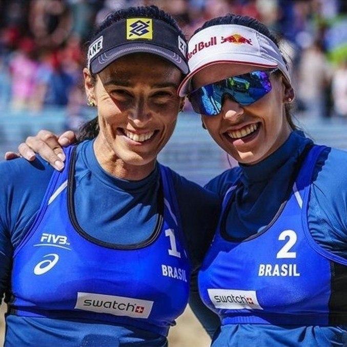 Ágatha e Duda venceram as também brasileiras Ana Patrícia e Rebecca