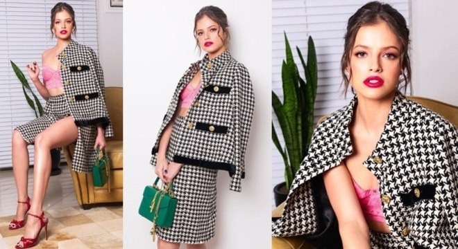 Agatha Moreira sempre capricha nos looks e mostrar estar antenadas nas ultimas tendências.