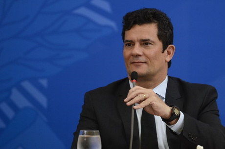 Na imagem, ex-ministro da Justiça Sergio Moro