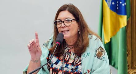 Na imagem, deputada federal Bia Kicis (PSL-DF)