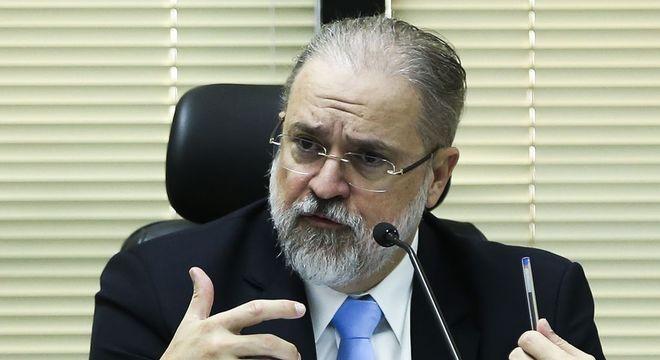 Na imagem, o procurador-geral da República, Augusto Aras