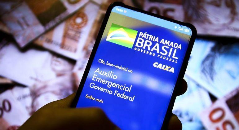 Aplicativo da Caixa para o auxílio emergencial
