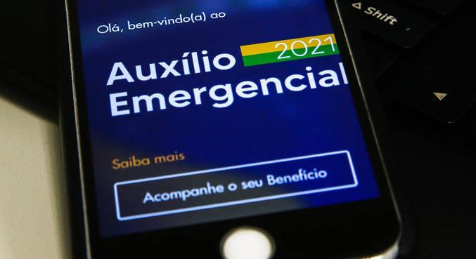 Auxílio emergencial foi prorrogado até outubro