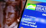 Aplicativo auxílio emergencial do Governo Federal. Publicado em 21/07/2020 05:35  Foto: Marcelo Camargo/Agência Brasil  Local: Brasilia-DF