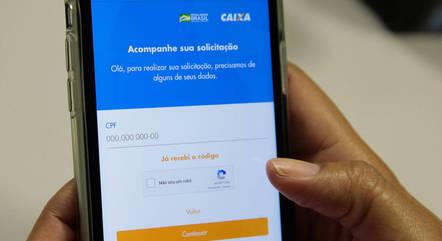Auxílio será pago por meio do app Caixa Tem