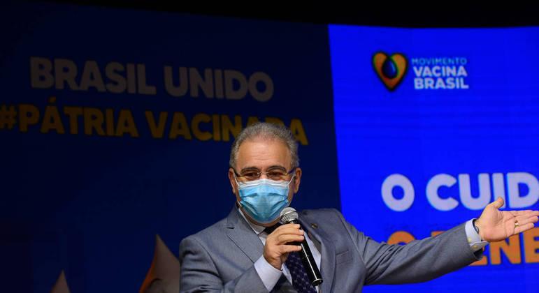 """Ministro foi atacado por presidente da CPI, que afirmou que ele """"mentiu demais"""" aos senadores"""