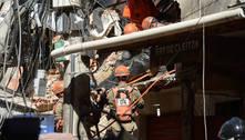 Prédio que ruiu em Rio das Pedras foi feito por parente, diz polícia