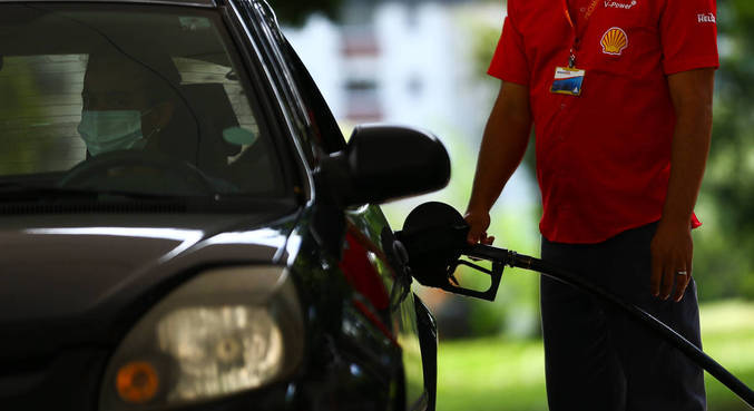 A cotação média do combustível nas bombas do país atingiu R$ 6,01por litro no período