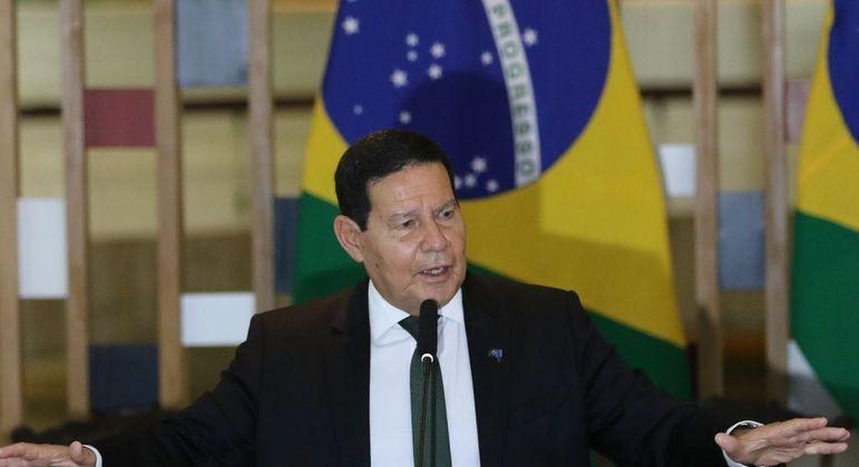 Mourão é presidente do Conselho Nacional da Amazônia Legal