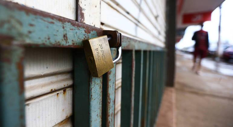 72 mil lojas fecharam as portas em todo o país durante a pandemia da covid-19