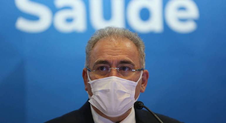 Segundo Queiroga, as doses serão suficientes para aplicação em 279 mil pessoas