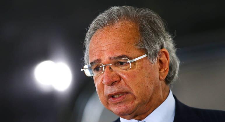 O ministro Paulo Guedes, titular da Economia: reavaliação abre caminho para a redução do bloqueio no Orçamento