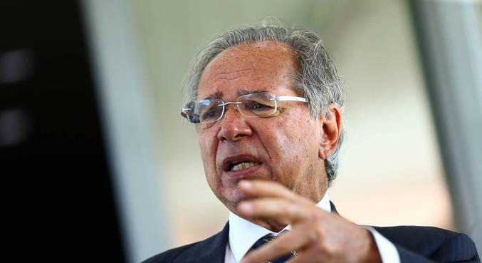 O ministro da Economia, Paulo Guedes, que defende solução para teto de gastos
