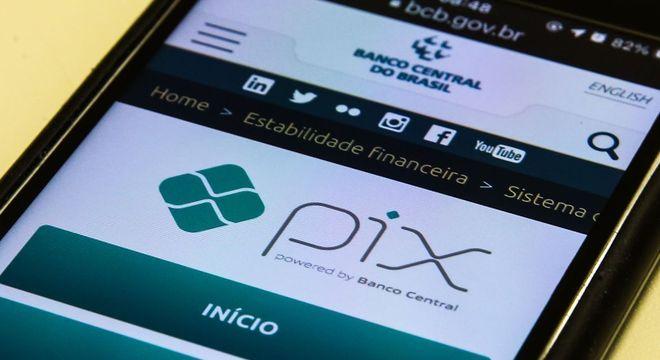 O sistema PIX á registrou um total de 92,5 milhões de operações, totalizando R$ 83,4 bilhões