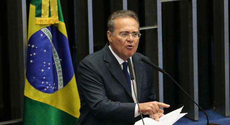"""O senador Renan Calheiros: futuro relator tem apoio do """"G7"""", os senadores independentes que já dominam a CPI.  Foto: Fabio Rodrigues Pozzebom/Agência Brasil  Local: DF"""