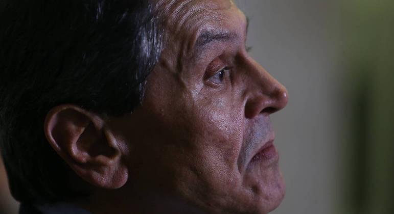 O presidente nacional do PTB, Roberto Jefferson