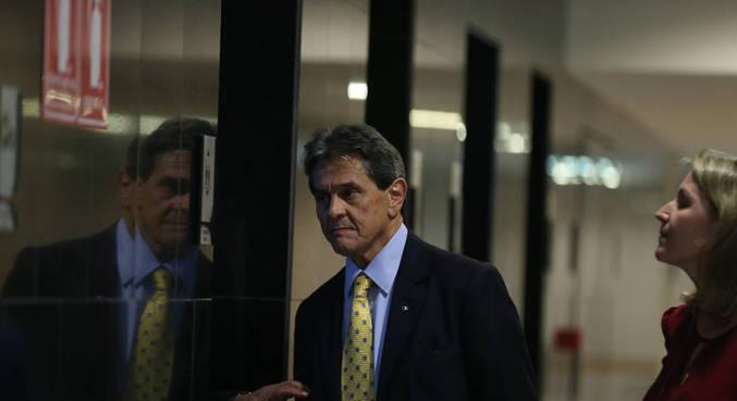 O presidente nacional do PTB, Roberto Jefferson, que foi preso no Rio de Janeiro