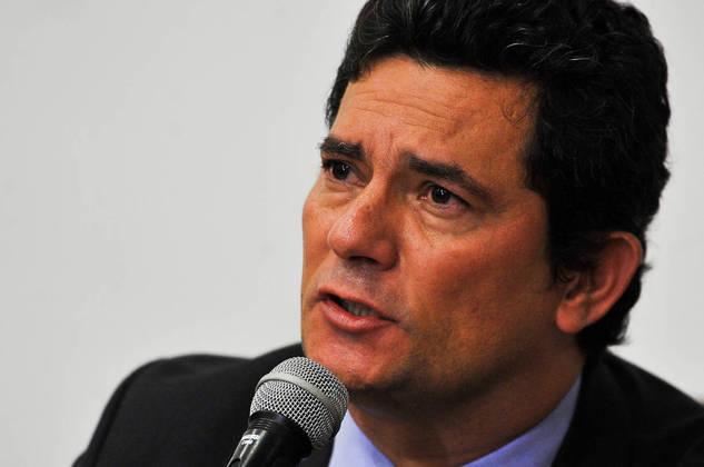 O ministro da Justiça e Segurança Pública, Sergio Moro, fala à imprensa Publicado em 24/04/2020 03:51  Foto: Marcello Casal JrAgência Brasil  Local: Brasília-DF