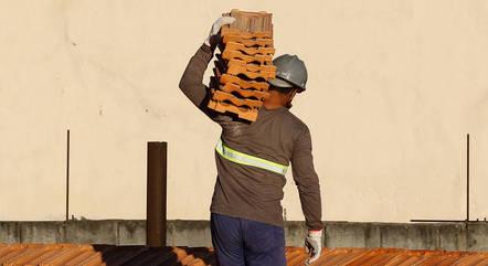 Confiança da construção figura aos 96,4 pontos