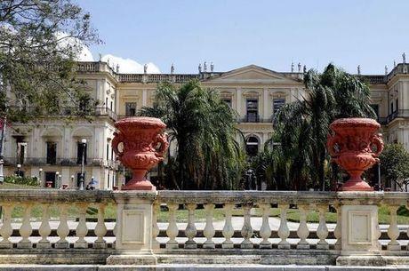 O museu pegou fogo no início de setembro