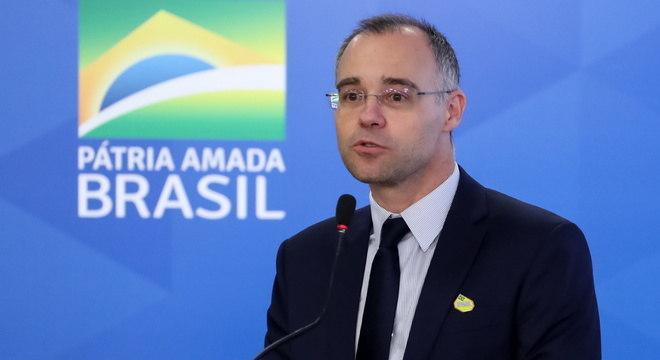 A pasta é comandada pelo ministro da Justiça André Mendonça (imagem)