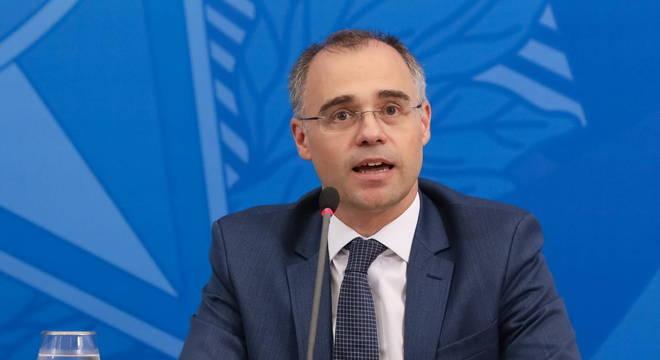 O ministro da Justiça e da Segurança Pública, André Mendonça