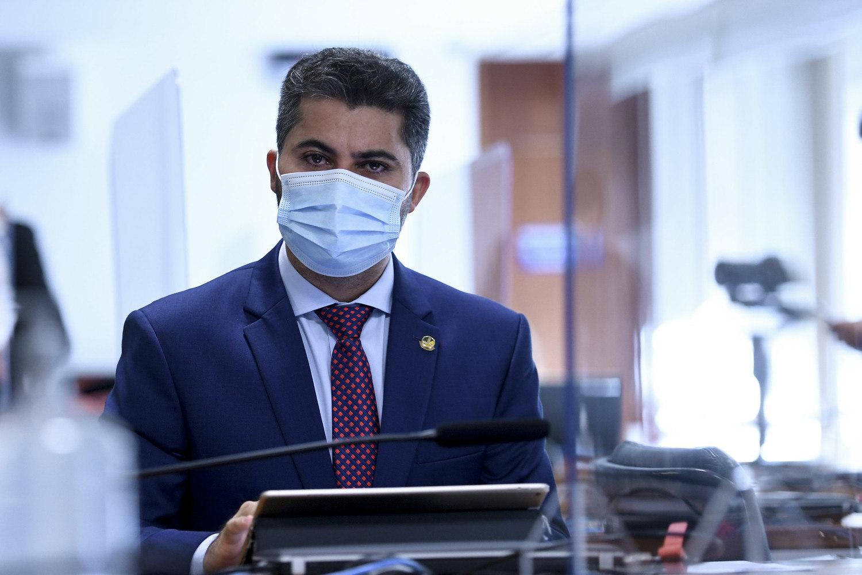 O senador Marcos Rogério (DEM-RO), relator da privatização da Eletrobras
