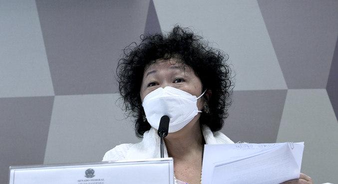 Assessora da médica Nise Yamaguchi foi expulsa de sala
