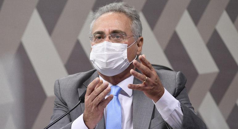 Relator da CPI, Renan Calheiros