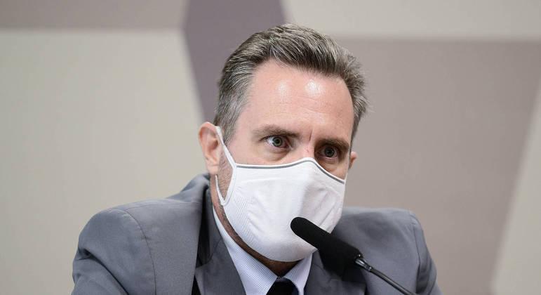 Luiz Paulo Dominghetti denunciou funcionário do Ministério da Saúde à CPI