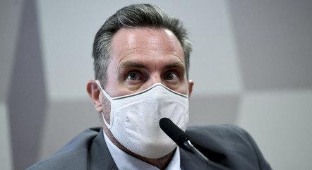 Luiz Paulo Dominguetti Pereira na CPI da Covid