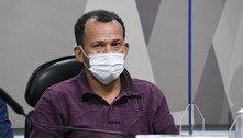 À CPI, motoboy diz que 'andava constantemente' no ministério