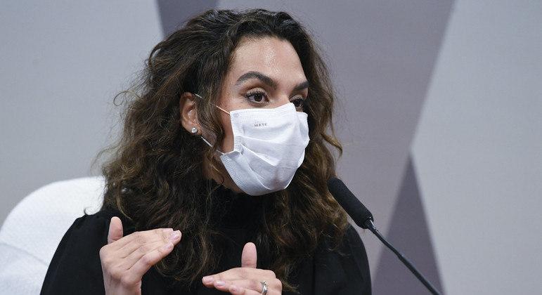 A médica Luana Araújo, que Queiroga desistiu de nomear ao Ministério da Saúde