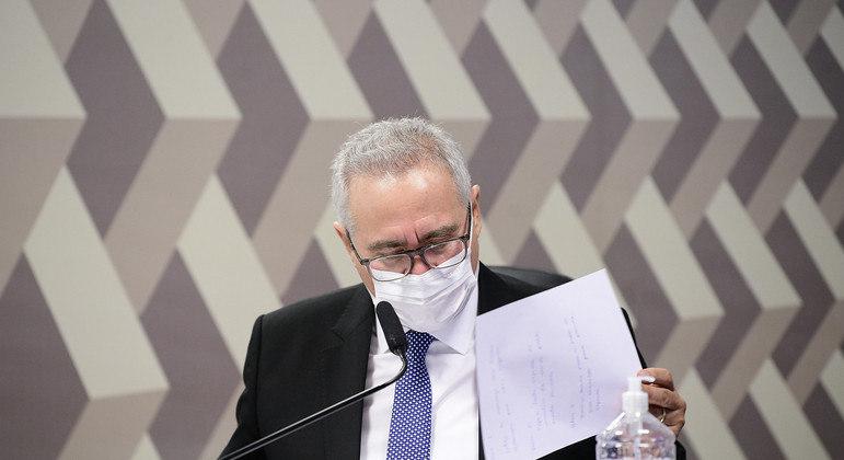 Renan Calheiros, relator da CPI da Pandemia