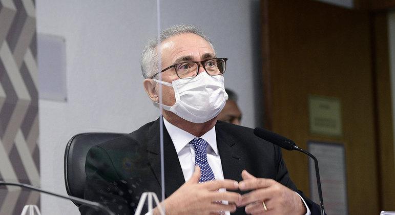 O relator da CPI da Pandemia, senador Renan Calheiros (MDB-AL)     Foto: Pedro França/Agência Senado