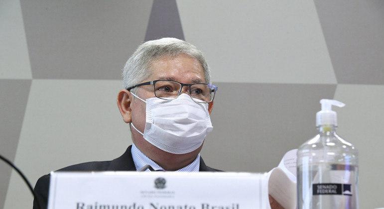 CPI obteve indícios de que contas de Dias foram pagas por empresa do grupo da VTCLog, mas Nonato Brasil disse não responder pela outra empresa