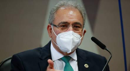Queiroga esteve na CPI no início de maio
